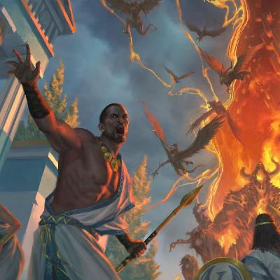 Epische ontsnappingen in Theros Beyond Death   #036
