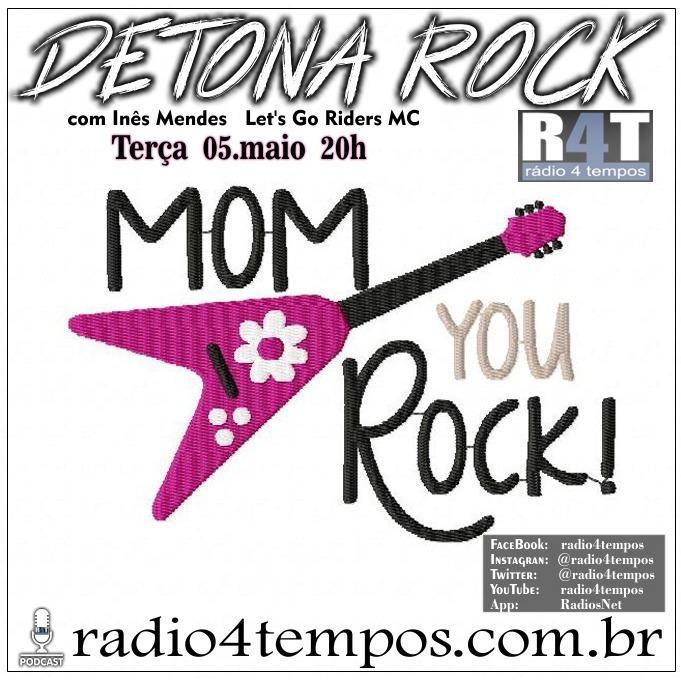 Rádio 4 Tempos - Detona Rock 31:Rádio 4 Tempos
