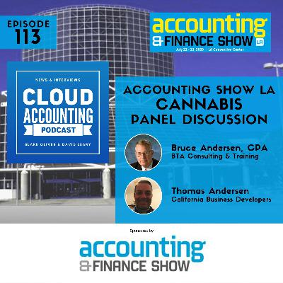 #AccountingShowLA: The Insanity of Cannabis Accounting & Tax