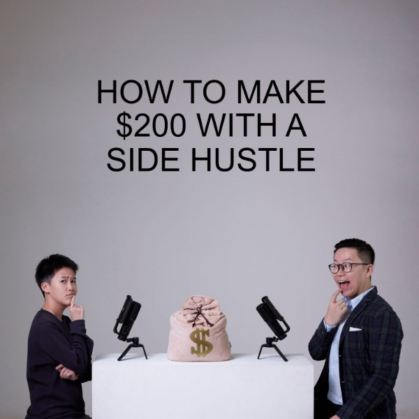 Ep #18 - How To Make $200 With A Side Hustle
