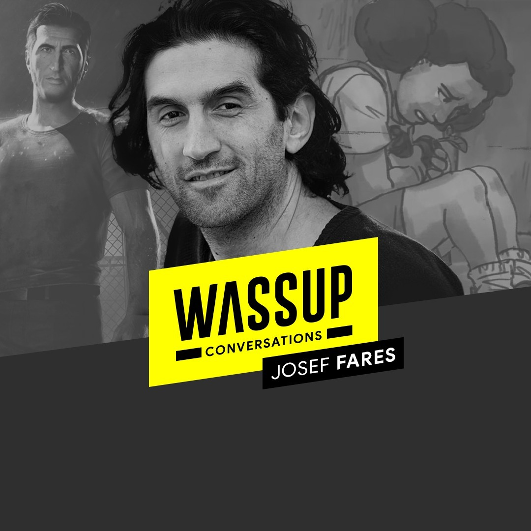 Josef Fares (Founder of Hazelight, It Takes Two, A Way Out)