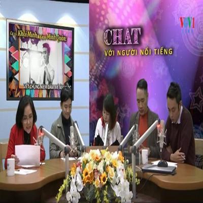 VOV - Chát với người nổi tiếng: Ca sĩ Khôi Minh và ca sĩ Minh Quân: Viết chung niềm đam mê âm nhạc