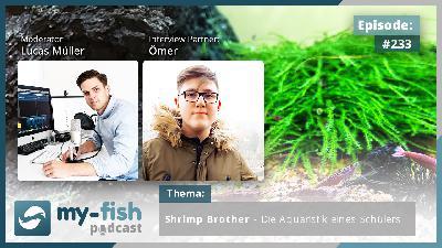 233: Shrimp Brother – Die Aquaristik eines Schülers (Ömer)