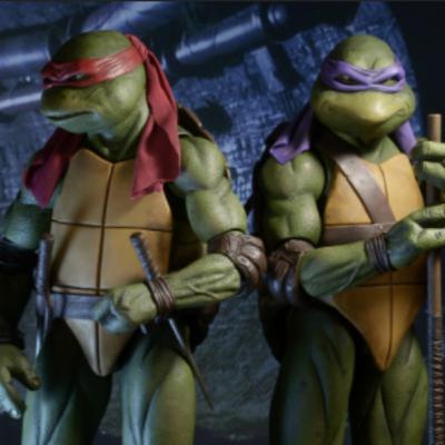 RETRO Teenage Mutant Ninja Turtles w/Wes Jones