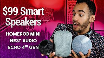 HomePod mini vs. 4th-Gen Echo vs. Nest Audio - Which Is the Best $99 Smart Speaker for You?