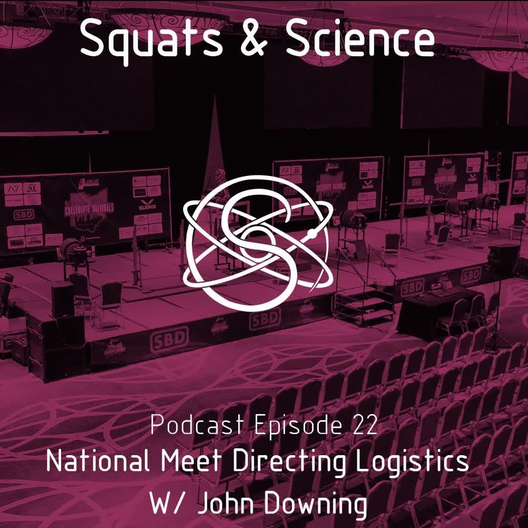 Episode 22 - National Meet Directing Logistics w/ John Downing