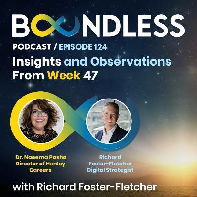EP124: Richard Foster-Fletcher and Dr Naeema Pasha: Insights and Observations from Week 47