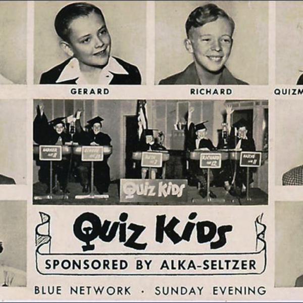 The Quiz Kids Podcast - Jack Benny Visits - Quiz Kids Mothers - Quiz Kids Fathers