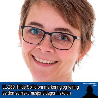 LL-289: Hilde Sollid om feiring og markering av den samiske nasjonaldagen i skolen