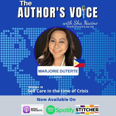 TAV 018 : Self Care in the time of Crisis with Marjorie Duterte