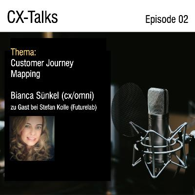 #02-20 Customer Journey Mapping mit Bianca Sünkel (cx/omni) & Stefan Kolle