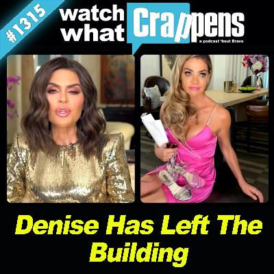 RHOBH: Denise Has Left The Building