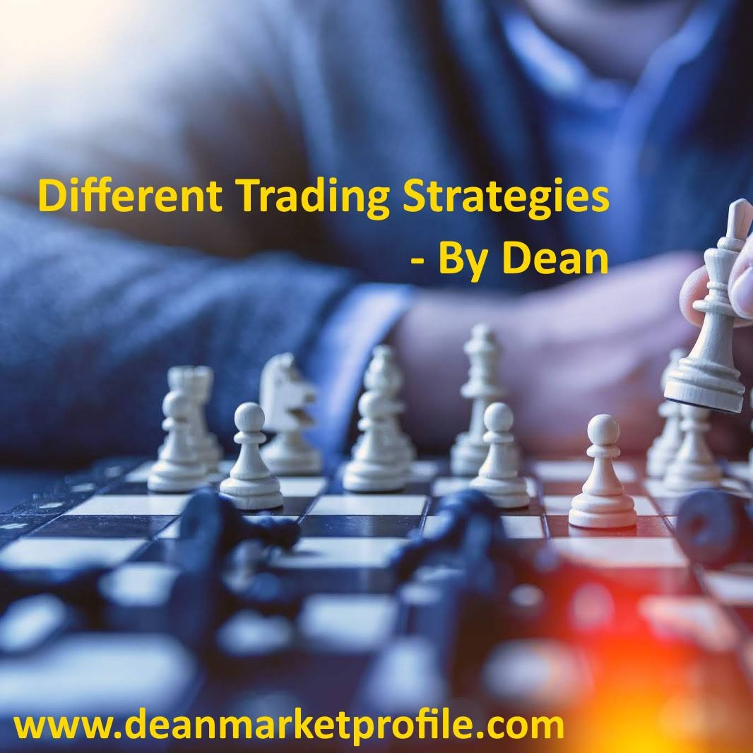 Different Trading Strategies by Dean - Part 1