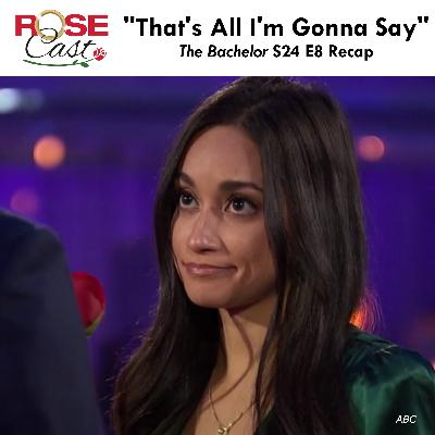 """""""That's All I'm Gonna Say"""" 