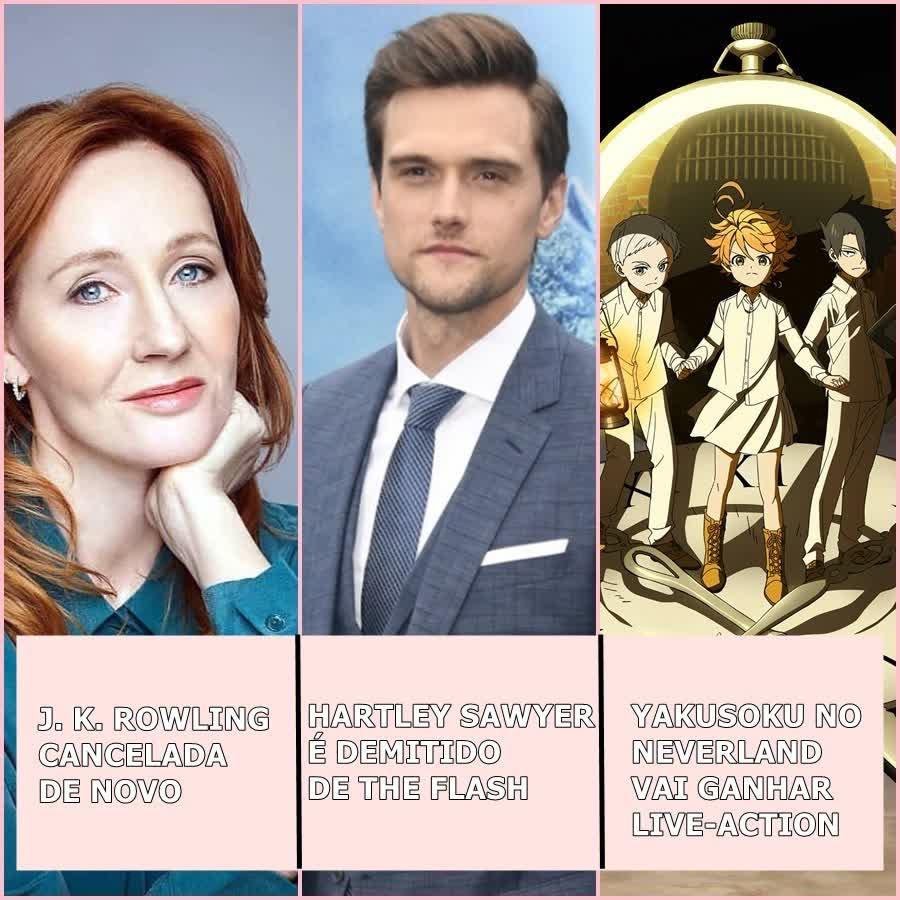 J.K Rowling cancelada, ator de Flash demitido, famoso anime ganhará live-action e mais| Uai Cast #42