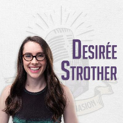 Desirée Strother Loves Creating Intricate Characters