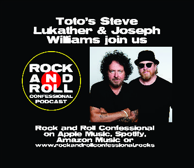Toto's Steve Lukather & Joseph Williams talk about their new albums, touring fun, making music, and farting on the tour bus!