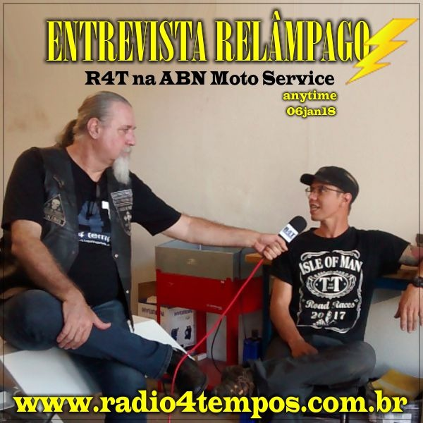 Rádio 4 Tempos - Entrevista Relâmpago 31