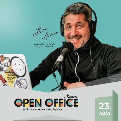23. Kiégés helyett, élhető munkahely – Bán András   Open Office Podcast
