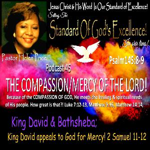 Podcast 45 King David appeals to God for Mercy