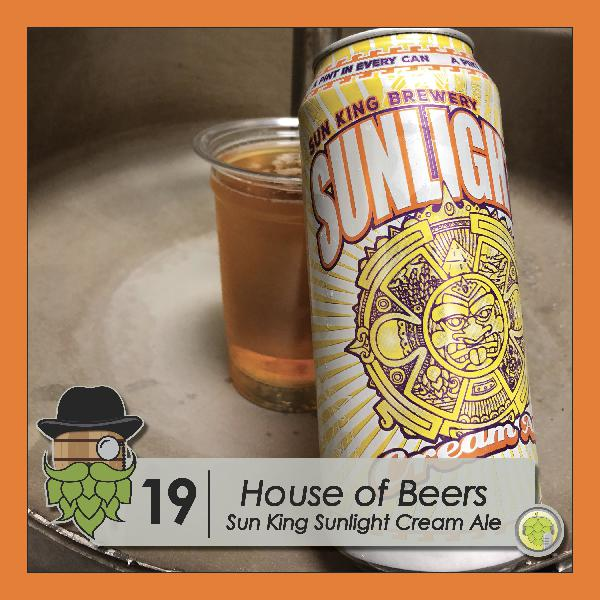 HB001: Sun King's Sunlight Cream Ale