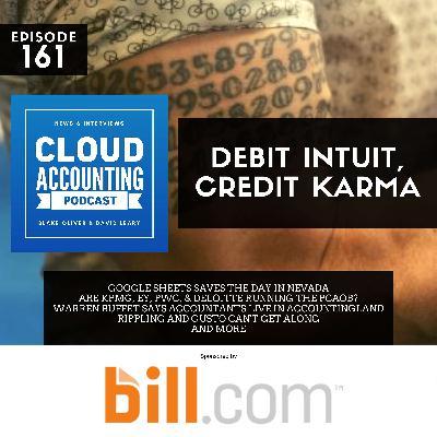 Debit Intuit, Credit Karma