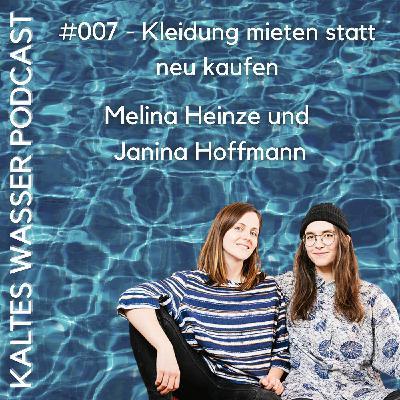 #007 Kleidung mieten statt neu kaufen (Melina Heinze und Janina Hoffmann | NRNY)