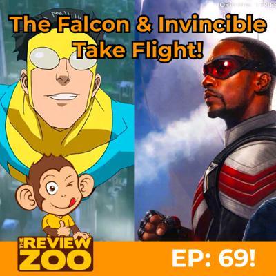 EP 69: The Falcon and Invincible w/Special Guest Marquelon Sigler