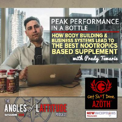 Prady Tewarie – Peak Performance in a Bottle: How Body Building & Business Systems Lead to the Best Nootropics Based Supplement (AoL 159)