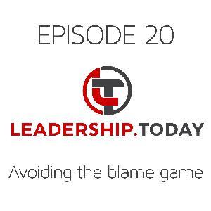 Episode 20 - Avoiding the Blame Game