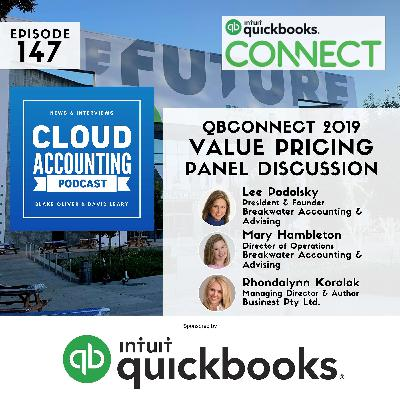 Value pricing panel becomes value pricing consultation 🎙 Live at QuickBooks Connect