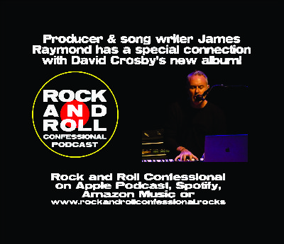 James Raymond talks about his latest music project, producing and co-writing for David Crosby's new album: For Free
