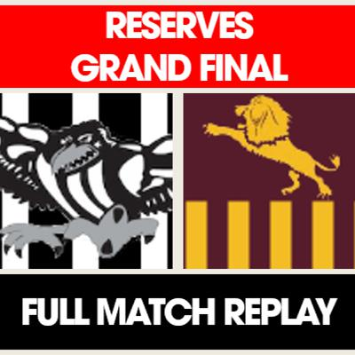 SWFL Reserves Grand Final Full Replay - Busselton vs HBL Lions
