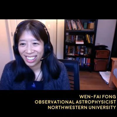 Kilonova Explosions and Magnetars - Dr. Wen-fai Fong interview - The Cosmic Companion Nov. 24, 2020