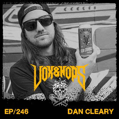 Winning a Juno & a Striker craft brew made 2020 bearable with Dan Cleary of Striker