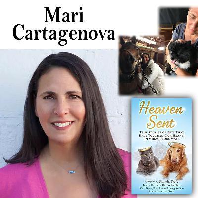 Harvey Brownstone Interviews Mari Cartagenova, Psychic Medium, Animal Communicator and best-selling Author