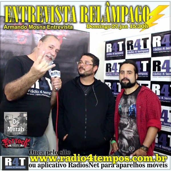 Rádio 4 Tempos - Entrevista Relâmpago 51