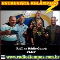 Rádio 4 Tempos - Entrevista Relâmpago 03