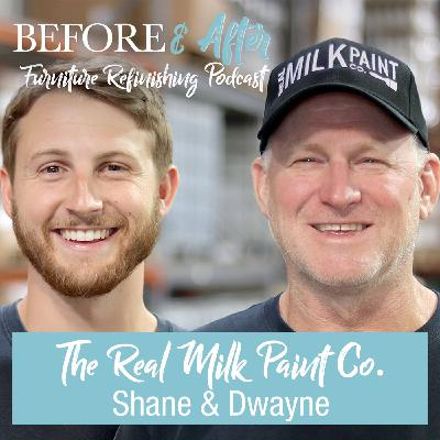 Learn more about The Real Milk Paint Co. and their unique product lines.