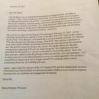 2017-3-5 | JCPS Mom Voted Off District-wide PTA Board for Advocating for Black Students