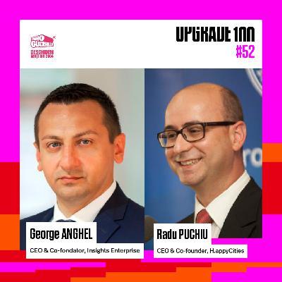 #52 COȘMARUL DIGITALIZĂRII ANAF ȘI A SERVICIILOR PUBLICE. Cu: George Anghel - Ghișeul.ro și Radu Puchiu - H.appy Cities