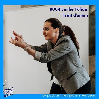 #004 Emilie Tolian - TRAIT D'UNION ou comment développer l'accessibilité pour les sourd.es et malentendant.es