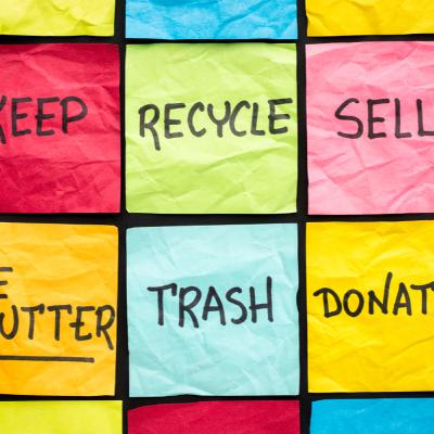 How I declutter in six steps