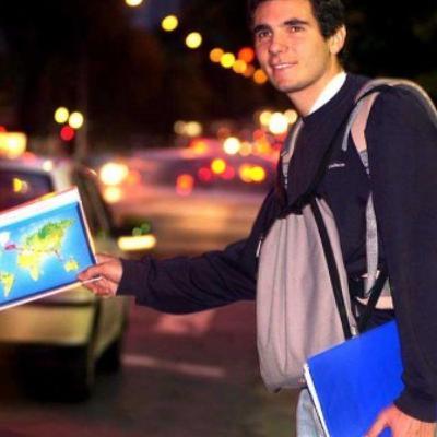 Ludovic Hubler, le tour du monde en stop