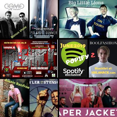 Halshack (POPIFY 2) Spotify excl. (Limited edition) for Podomatic/RSS feed