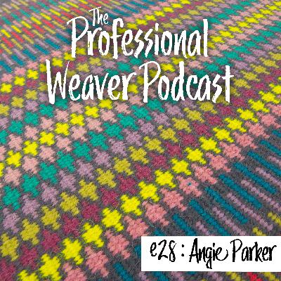 28 : Angie Parker on Pricing her work, Arts education in the UK, krokbragd, and color!