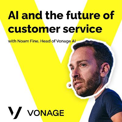 AI and the future of customer service with Noam Fine, Vonage AI