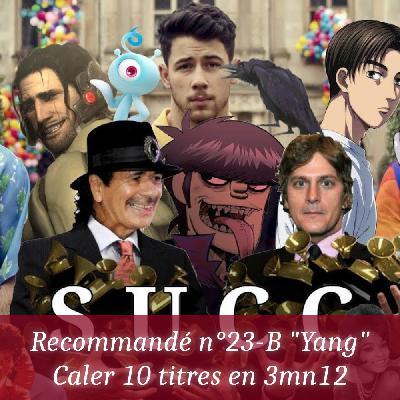 """Recommandé n°23-B """"Yang"""" - Caler 10 titres en 3mn12"""