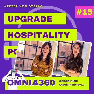 #15: VR und Reality Capture in Hotels und Tourismus - Omnia360 Gründerin Claudia Kiani und Angelina Eimecke im interview