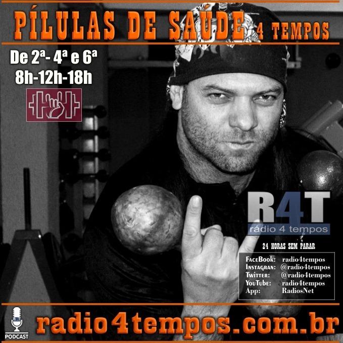Rádio 4 Tempos - Pílulas de Saúde 110:Itazil Junior